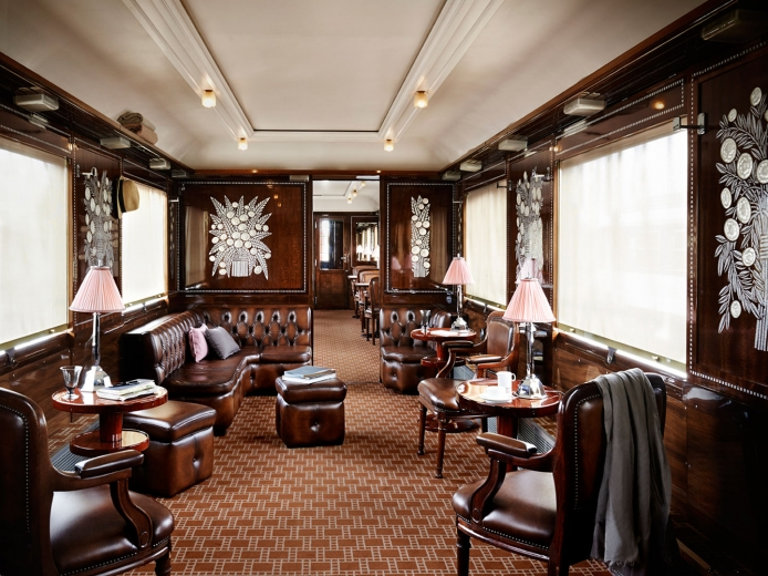 Yannick Alleno at the ORIENT EXPRESS