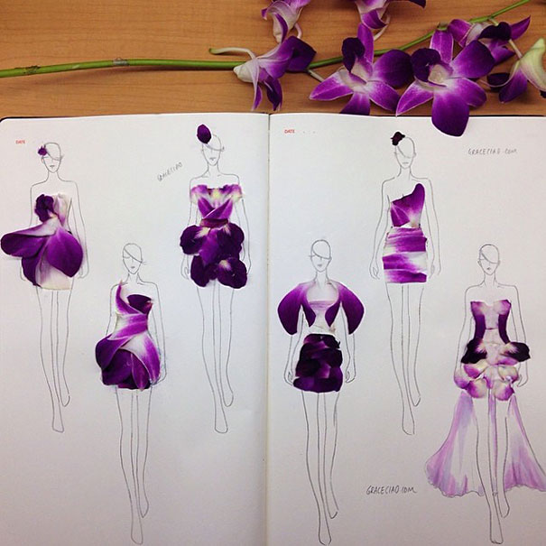 fashion-illustrations-flower-petals-grace-ciao-9__605
