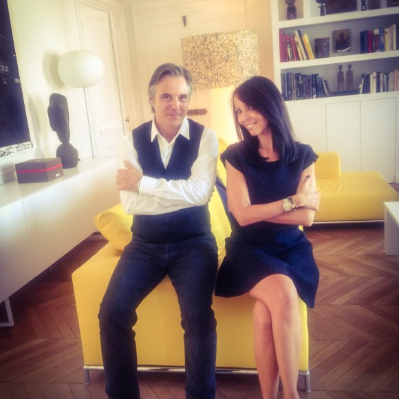 Home with Olivier Lapidus
