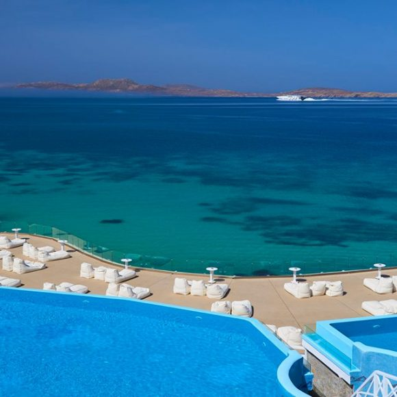 Mykonos Hotels with the best breakfast view