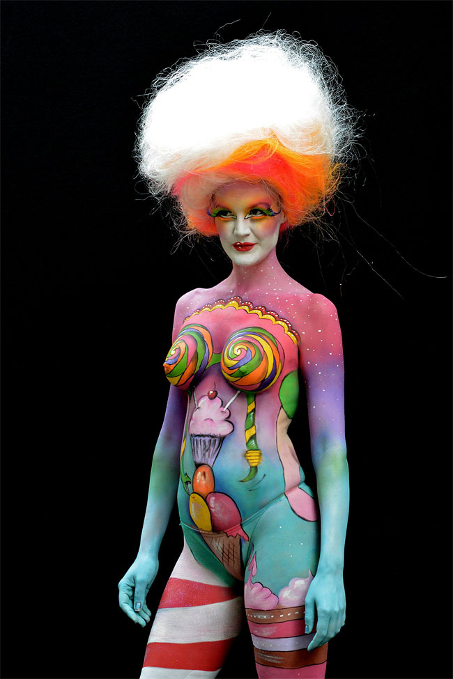 The 15th World Bodypainting Festival In Austria Lenasblackbook
