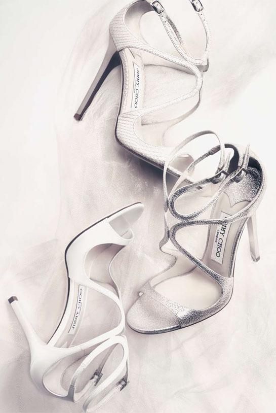 Jimmy Choo Bridal Shoe collection 2015